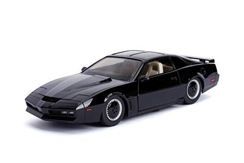 Rider Knight - Jada 1: 24 Hollywood Rides Knight Rider KITT with Light Pontiac Firebird 30086, Black