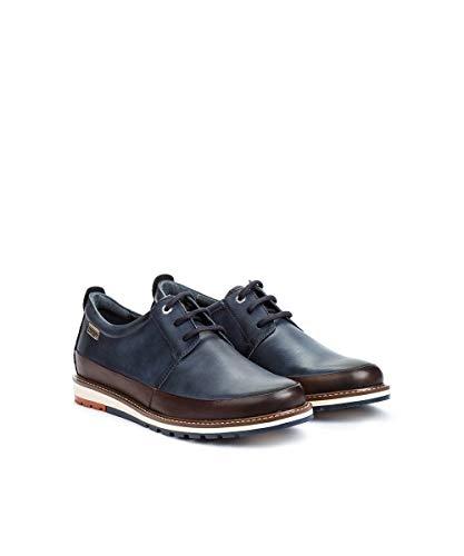 Bleu 140 Derby Cordones Berna Para Hombre blue M8j Pikolinos Zapatos De Xvqf8PTw