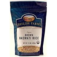 Shiloh Farms: Brown Basmati Rice 15 Oz (6 Pack)