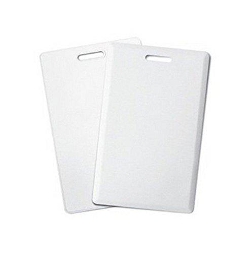RFID 125/KHz Writable Rewrite T5577/Proximit/é acc/ès Blanc 1.9/mm d/épaisseur carte Blanc, Lot de 20