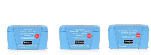 Neutrogena Makeup Remover Cleansing Towelettes, 25 Count ...