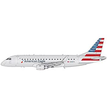 Gemini Jets American Airlines Embraer ERJ-175 1:200 Scale Model Die-Cast  Part#G2AAL715