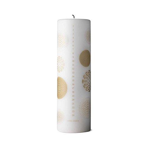 - Georg Jensen Christmas Calendar Candle Gold, 2018