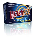 WashEZE 3-in-1 Laundry Detergent Sheets, Scented, 10 Count Package - Includes Everything Needed Detergent, Fabric Softener and Static Guard.