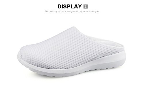 Bigcardesigns Skull Ladies Casual Mesh Flats Slip-on Shoes Pigro Femminile 40