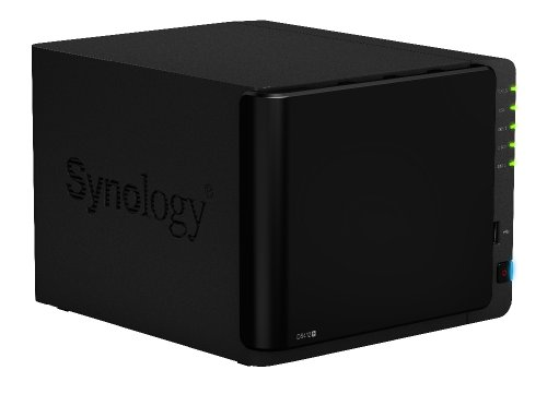 Synology DiskStation 4-Bay 12TB (4 x 3TB) Network Attached Storage (NAS) with iSCSI (DS412+ 4300)
