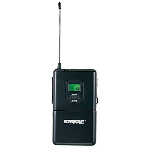- Shure SLX1 Bodypack Transmitter, J3