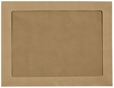 9 x 12 Full Face Window Envelopes - Grocery Bag (1000 Qty) | Perfect for Head Shots, Annual Reports, Brochures, Magazines, Invitations| FFW-912-GB-1M