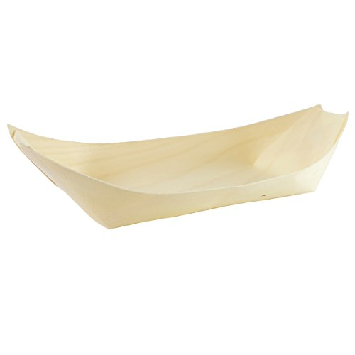 Bamboo Boat (Nature's Party Large Wooden Boats, 9