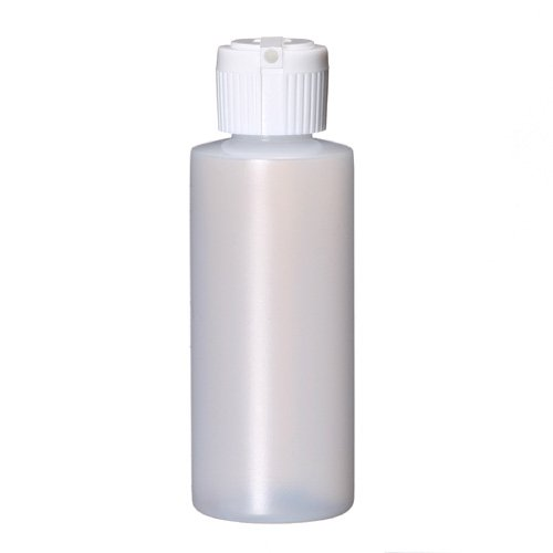(Plastic Bottle 2 oz, with Flip Top Cap - 12 pk.)