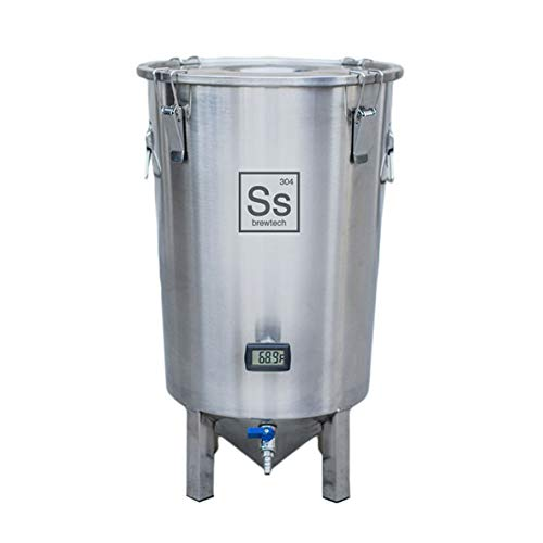 Ss Brewtech Home Brewing BrewMaster Brew Bucket Fermenter; Stainless Steel (7 Gallon) by Ss Brewtech
