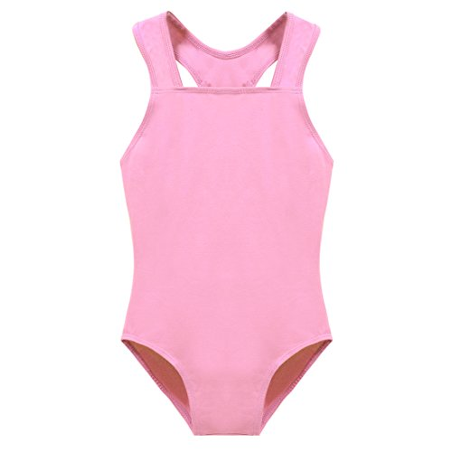 Arshiner-Girls-Tank-Leotard-Gymnastics-Ballet-Dance-Pink-140