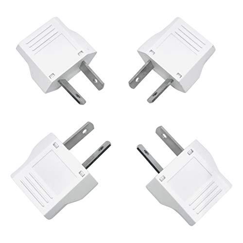 - Unidapt US to Australia Plug Adapter - AU/NZ power plug adapter converter - US EU to AU (4 piece)