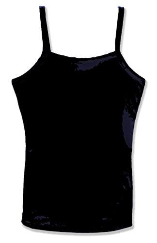 - Dragonwing girlgear Girls Performance Sports Cami Tank Top with Shelf Bra, Black, Small (10)