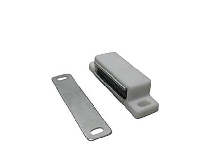 10 x Magnetschn/äpper Magnetschnapper Magnet Schnapper T/ürmagnete T/ürmagnet braun 5kg SAMWERK/®