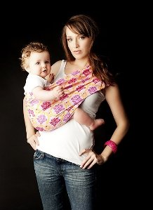 Everyday Baby Sling (Seven Everyday Slings Baby Infant Carrier Sling Size 4 (Lucky Pink))
