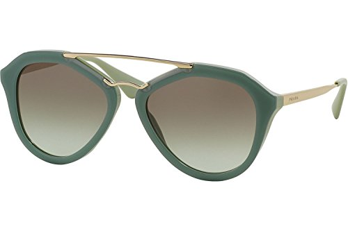 Prada Women's PR12QS Sunglasses, Green by Prada