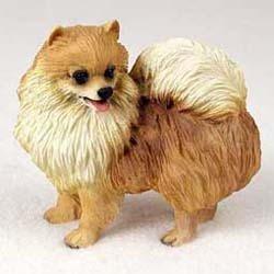 Pomeranian Figurine