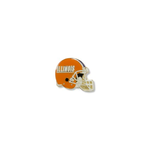 NCAA Illinois Fighting Illini Helmet Pin
