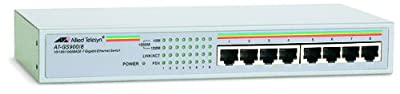 ALLIED TELESIS Unmanaged Gigabit Ethernet Switch (AT-GS900/8-50)
