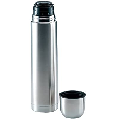 "Maxam 32-Ounce (1 Quart) Stainless Steel Vacuum Bottle 12-1/2"" x 3-1/4"""