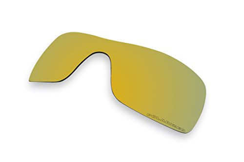 Sunglass Lenses Replacement Polarized for Oakley Batwolf Sunglasses- 8 Options Available (Gold Mirror Coatings)