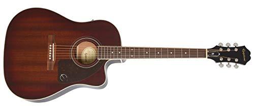 AJ-220SCE Acoustic-Electric Guitar, Mahogany Burst