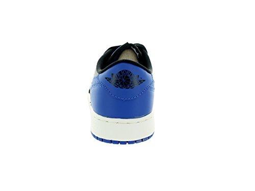 Nike niños Air Jordan 1 Retro baja Og Bg Negro / Varsity Royal / vela zapatillas de baloncesto 4 ni Black/Varsity Royal/Sail