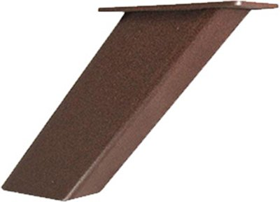 Noda 5'' Countertop Post Support (Bronze) by Federal Brace