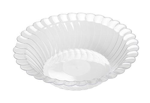 Fineline 11 oz Flairware Bowl (Case of 180) (18 x 10), Clear by Fine-line