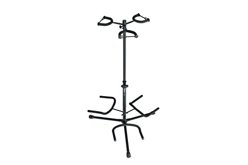 - Gator Frameworks Adjustable Triple Guitar Stand; Holds Three Electric or Acoustic Guitars (GFW-GTR-3000)