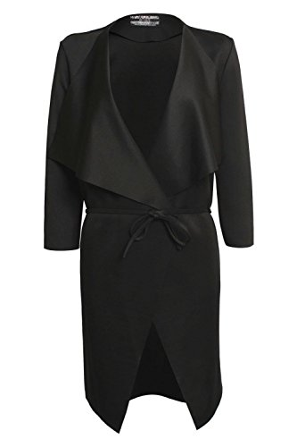 Pilot Cascada de la chaqueta de Negro Negro