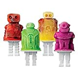 New! Tovolo: Dino, Zombie, Robot, Tiki, Monster Pop Molds (Robots)