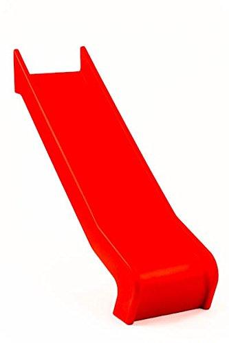 Einteilige PE Rutsche - PH 75/90 cm - DIN EN 1176 öffentlich, Farbe:rot