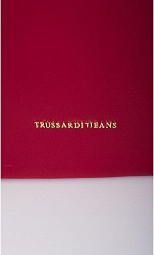 TRUSSARDI JEANS TREMBLANT Borsa hobo sottospalla media ROSSO 75B27135