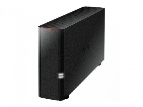 Buffalo LinkStation 210 4TB - Unidad RAID (HDD, 3000 GB, HDD, Marvell, 800 GHz, 0,256 GB) Negro LS210D0301-EU