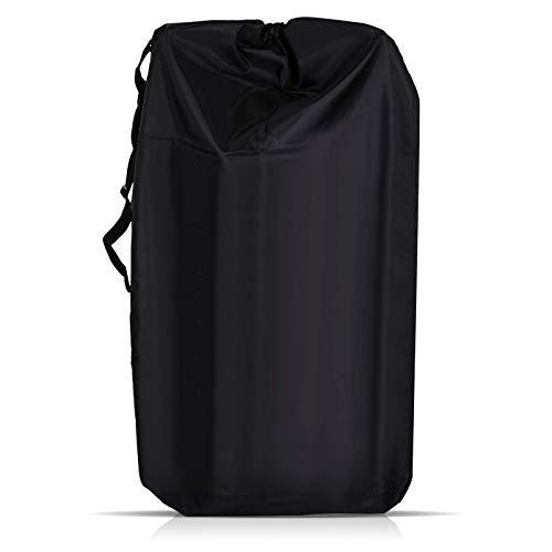 LIHAO Universal Bolsa de Transporte Cochecito Bebe Bolsa Impermeable de Viaje para Avion (600D Tela Oxford, Negro)