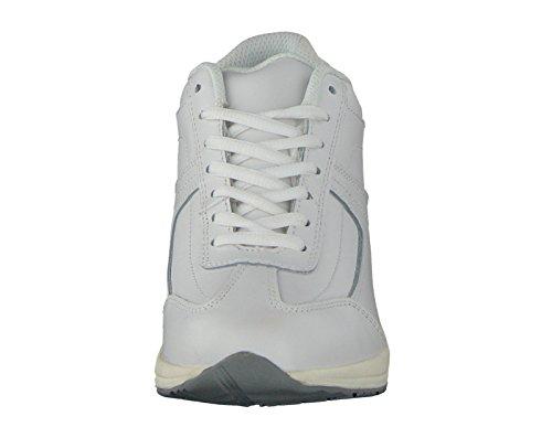 piel Qualitex Mujer Blanco de con real Efecto zapatos Medical Best de HSM Wei abroll t60Zqw