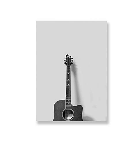 Estilo nórdico Música Arte Cartel de la guitarra Poster ...