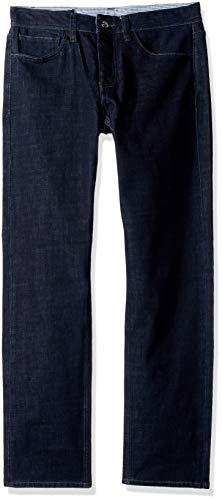 Armani Jeans Five Pocket Jeans - A|X Armani Exchange Men's Slim Fit 5 Pocket Blue Rinse Denim Inseam, Indigo Blue, 30