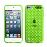 (MYBAT Unique Protective Case for iPod touch 5 (Green Diamond))
