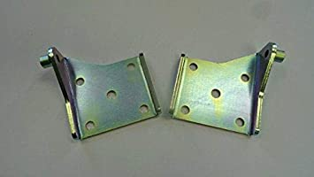 Compatible//Replacement for Racing Shock Plate Leaf Spring Mounts 3 x 3.5 Dodge Plymouth 8 3//4 Dana 60 w//U Bolts