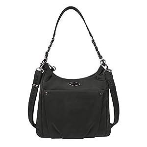 Travelon Women's Parkview Anti-Theft Hobo Crossbody Bag