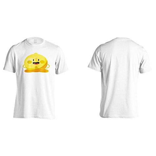 Neue Zitronenfrucht Leckere Neuheit Herren T-Shirt l366m