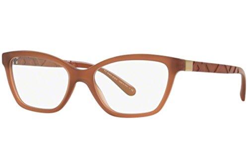 Burberrys Women's BE2221 Eyeglasses Matte Brown 53mm