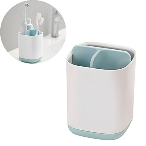 Sujing Toothbrush Holder Plastic Storage Rack Toothpaste Rack Cosmetic Storage Rack