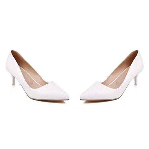 White Zanpa Formale Donna Heels 6 Tacco Colors 6cm Col Scarpe qZ0wf1