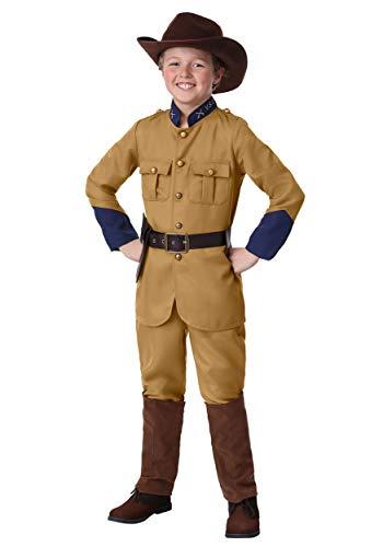 Theodore Roosevelt Rough Riders Costumes - Boy's Teddy Roosevelt Costume