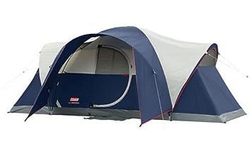 Coleman Elite Montana 8 Person 16x7u0027 Family C&ing Tent w/ WeatherTec u0026 Rainfly  sc 1 st  Amazon.com & Amazon.com : Coleman Elite Montana 8 Person 16x7u0027 Family Camping ...