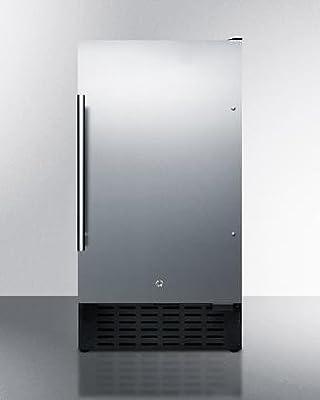 Summit FF1843BSSADA Refrigerator, Stainless Steel